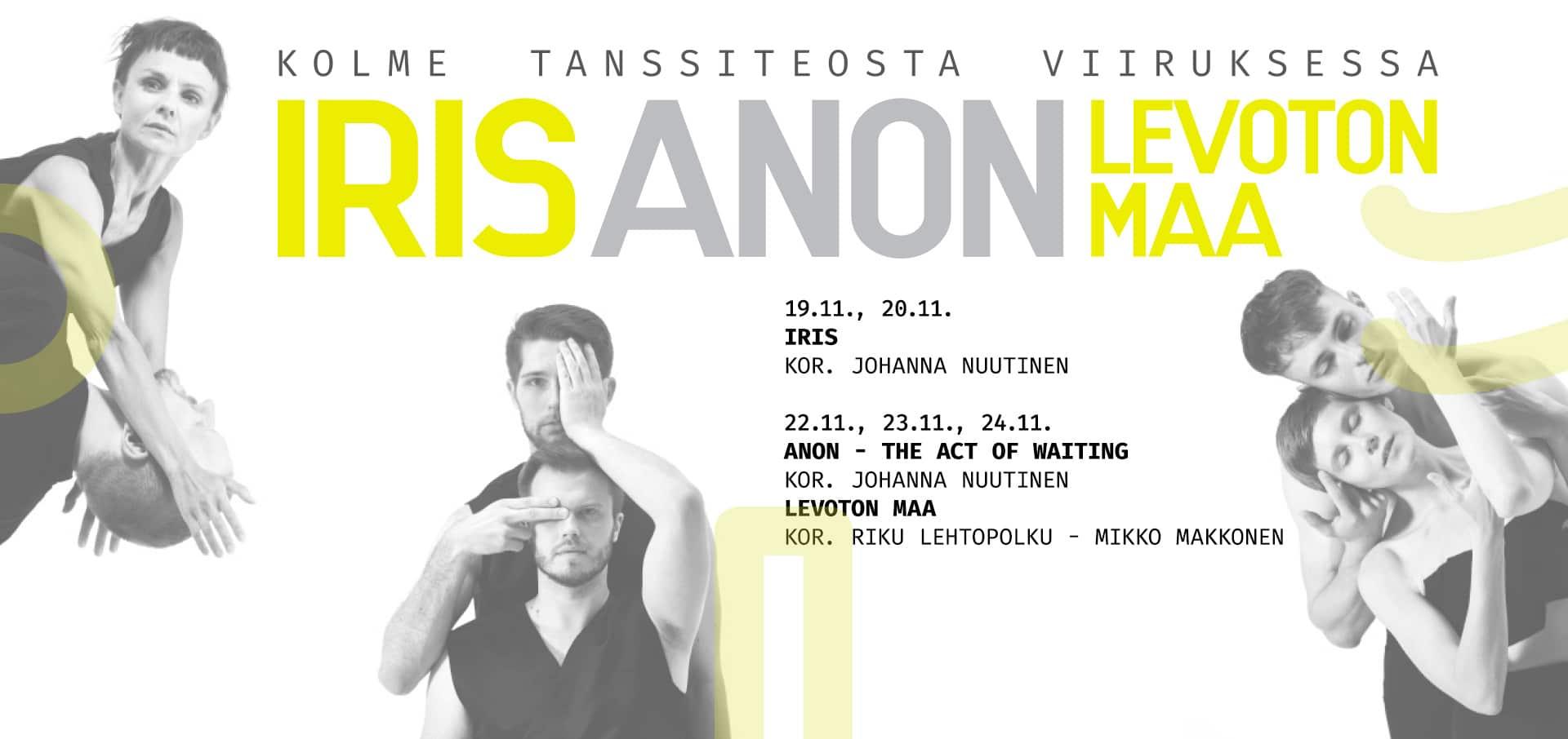 Johanna Nuutinen +CO: tanssiproduktion visuaalinen ilme